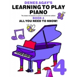 Denes Agay's Learning to Play Piano Book 4 - All You Need to Know!