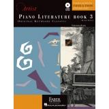 Piano Literature Book 3 - Original Keyboard Classics - Intermediate (with Audio)