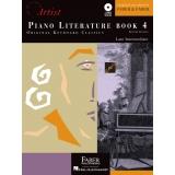 Piano Literature Book 4 - Original Keyboard Classics - Late Intermediate (with Audio)