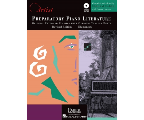 Preparatory Piano Literature - Original Keyboard Classics with Optional Teacher Duets - Elementary (with CD)