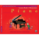 Alfred's Basic Graded Piano Course Lesson Book 1 · Elementary