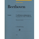 Beethoven: At the Piano - 9 well-known original pieces in progressive order of difficulty