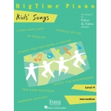 BigTime Piano Kids' Songs Level 4