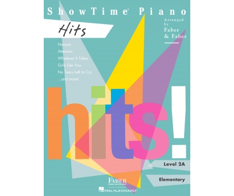 ShowTime Piano Hits Level 2A