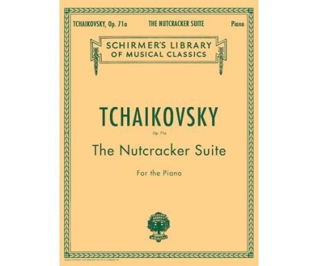 Tchaikovsky Op. 71a - The Nutcracker Suite for the Piano