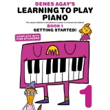Denes Agay's Learning to Play Piano Book 1 - Getting Started!