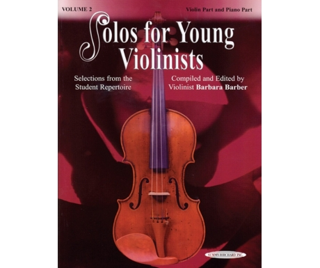 Solos for Young Violinists Volume 2 (Violin Part and Piano Part)
