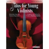 Solos for Young Violinists Volume 4 (Violin Part and Piano Part)