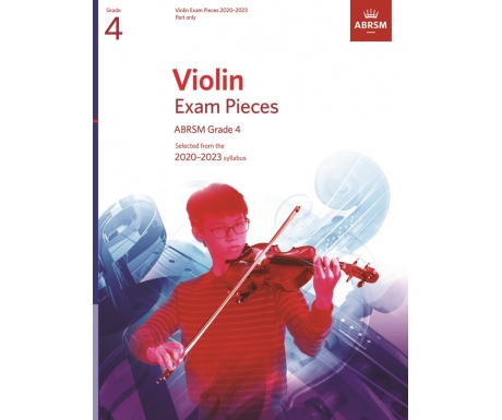 Violin Exam Pieces ABRSM Grade 4 2020-2023 (Part only)