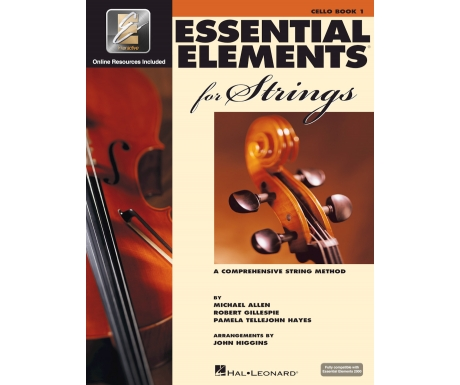 Essential Elements for Strings: Cello Book 1 (with Online Resources)
