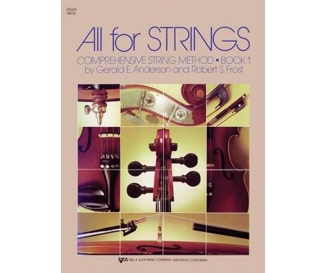 All for Strings: Cello Book 1