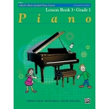 Alfred's Basic Graded Piano Course Lesson Book 3 · Grade One