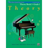 Alfred's Basic Graded Piano Course Theory Book 3 · Grade One