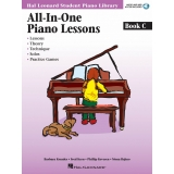 Hal Leonard Student Piano Library All-In-One Piano Lessons Book C (with Audio and MIDI Access)