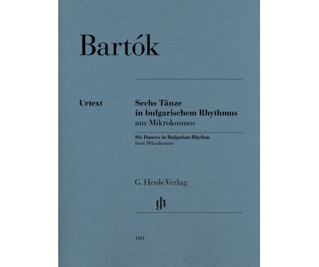 Bartók: Sechs Tänze in bulgarischem Rhythmus aus Mikrokosmos