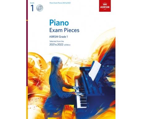 Piano Exam Pieces ABRSM Grade 1 2021 & 2022 (with CD)