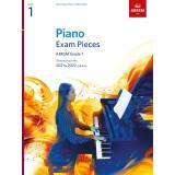 Piano Exam Pieces ABRSM Grade 1 2021 & 2022