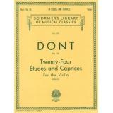 Dont Op. 35 - Twenty-Four Études and Caprices for the Violin