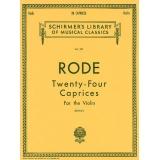Rode - Twenty-Four Caprices for the Violin