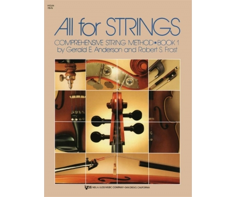 All for Strings: Violin Book 1