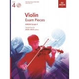 Violin Exam Pieces ABRSM Grade 4 2020-2023 (Score, Part & CD)