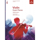 Violin Exam Pieces ABRSM Grade 4 2020-2023 (Score & Part)