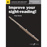 Improve Your Sight-Reading! Flute Levels 6-8 (with Online Audio)