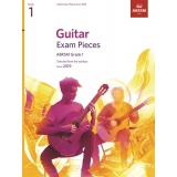 Guitar Exam Pieces ABRSM Grade 1 from 2019
