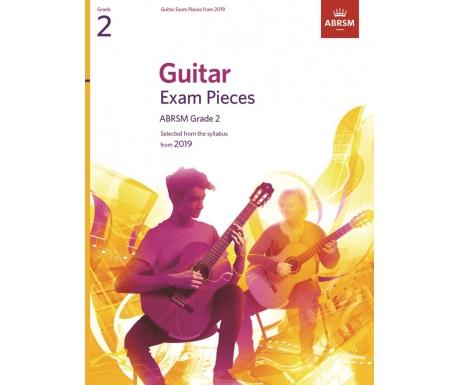Guitar Exam Pieces ABRSM Grade 2 from 2019
