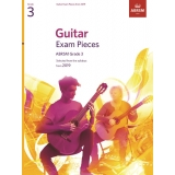Guitar Exam Pieces ABRSM Grade 3 from 2019