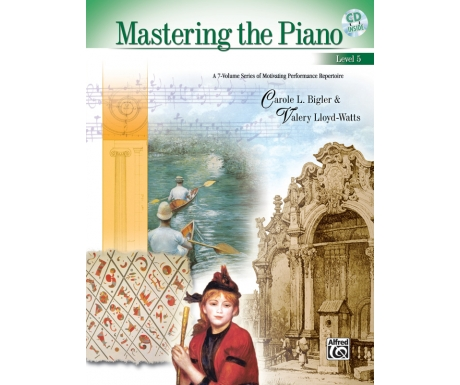 Mastering the Piano Level 5 (with CD)