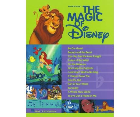 The Magic of Disney (Big-Note Piano)