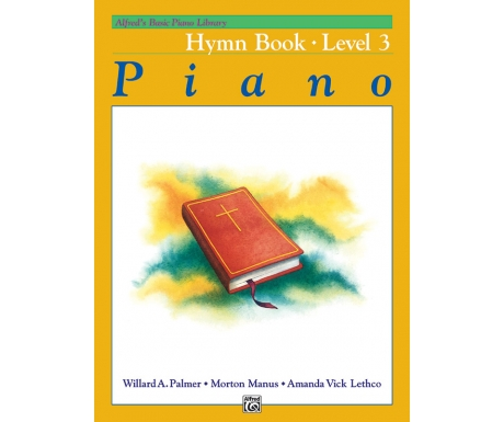 Alfred's Basic Piano Library Hymn Book Level 3