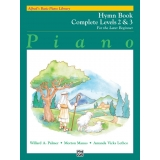 Alfred's Basic Piano Library Hymn Book Complete Levels 2 & 3