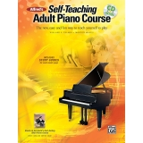 Alfred's Self-Teaching Adult Piano Course (with Online Access)