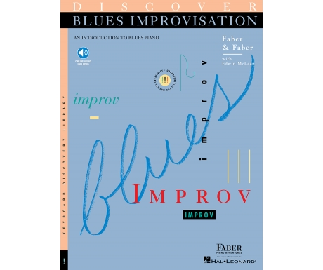 Discover Blues Improvisation (with Online Audio)