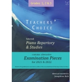 Teachers' Choice Grades 1, 2 & 3: Selected Piano Repertory & Studies