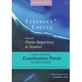 Teachers' Choice Grades 4 & 5: Selected Piano Repertory & Studies