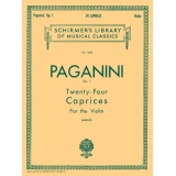 Paganini Op. 1 - Twenty-Four Caprices for the Violin