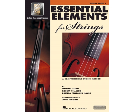 Essential Elements for Strings: Violin Book 1 (with Online Resources)