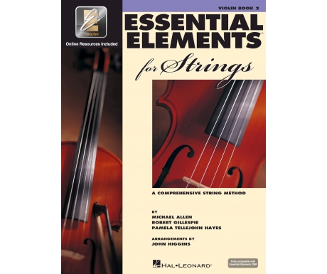Essential Elements for Strings: Violin Book 2 (with Online Resources)