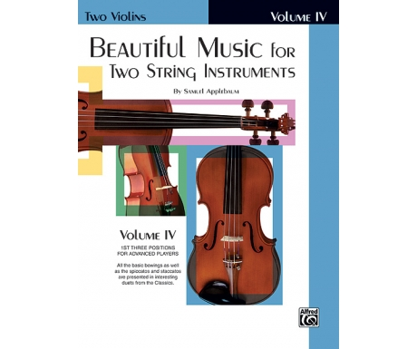 Beautiful Music for Two String Instruments Volume IV