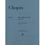 Chopin: Barcarolle Fis-dur Opus 60