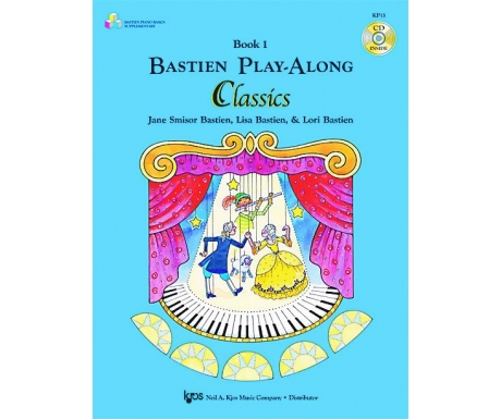 Bastien Play-Along Classics Book 1 (with CD)