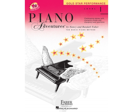 Piano Adventures Gold Star Performance Level 1 (with Audio)