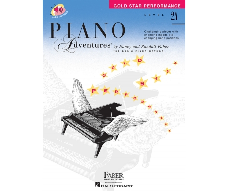 Piano Adventures Gold Star Performance Level 2A (with Audio)