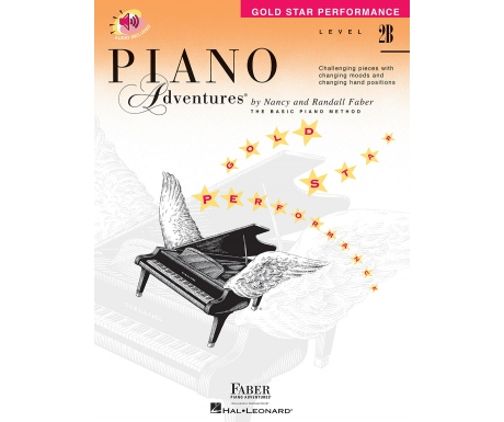 Piano Adventures Gold Star Performance Level 2B (with Audio)
