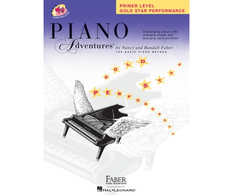 Piano Adventures Gold Star Performance Primer Level (with Audio)