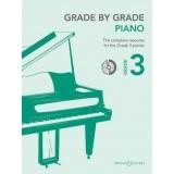 Grade by Grade Piano Grade 3 (with CD)