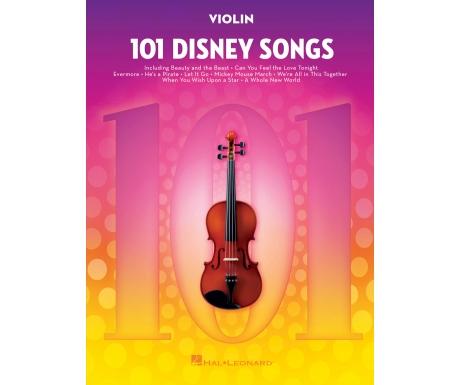 101 Disney Songs (Violin)